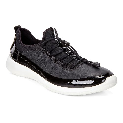Womens Ecco Soft 5 Toggle Casual Shoe - Black 40
