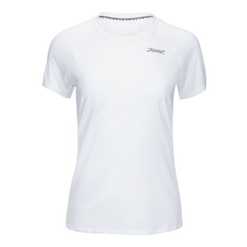 Womens Zoot Chill Out Tee Short Sleeve Technical Tops - White XS