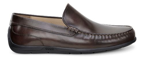 Mens Ecco Classic Moc Casual Shoe - Coffee 40