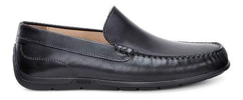 Mens Ecco Classic Moc Casual Shoe - Black 44
