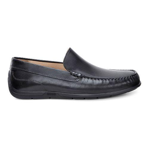 Mens Ecco Classic Moc Casual Shoe - Black 43