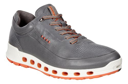Mens Ecco Cool 2.0 Leather GTX Casual Shoe - Dark Shadow 43