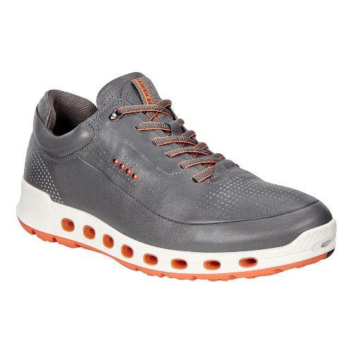 Mens Ecco Cool 2.0 Leather GTX Casual Shoe - Dark Shadow 45