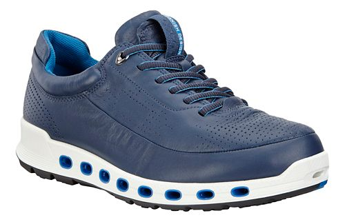 Mens Ecco Cool 2.0 Leather GTX Casual Shoe - True Navy 41