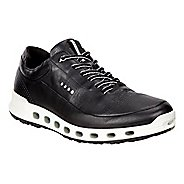 Mens Ecco Cool 2.0 Leather GTX Casual Shoe - Black 46