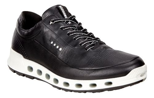 Mens Ecco Cool 2.0 Leather GTX Casual Shoe - Black 42