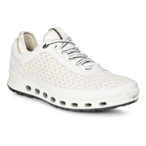 Mens Ecco Cool 2.0 Textile GTX Casual Shoe - White 42