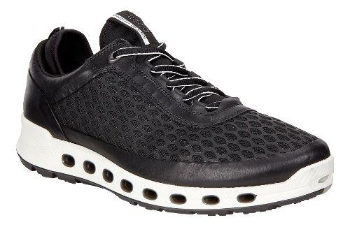 Mens Ecco Cool 2.0 Textile GTX Casual Shoe - Black 42