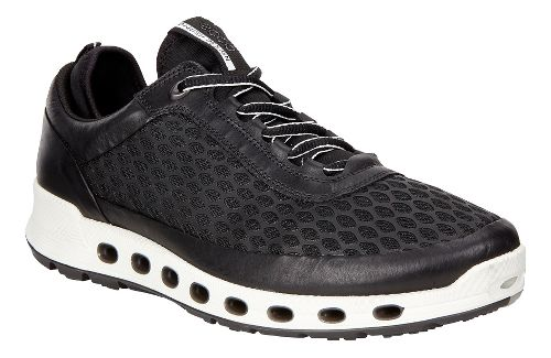 Mens Ecco Cool 2.0 Textile GTX Casual Shoe - Black 44