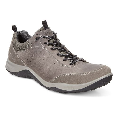 Mens Ecco Espinho Low Casual Shoe - Warm Grey 40