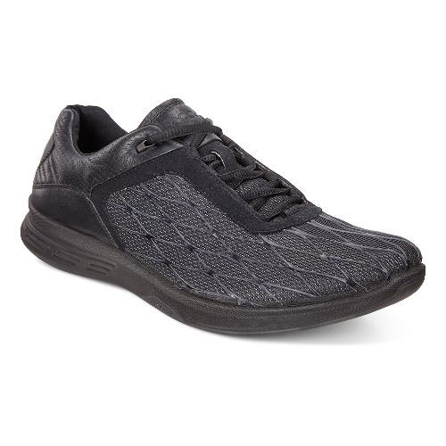 Mens Ecco Exceed Sport Walking Shoe - Black 44