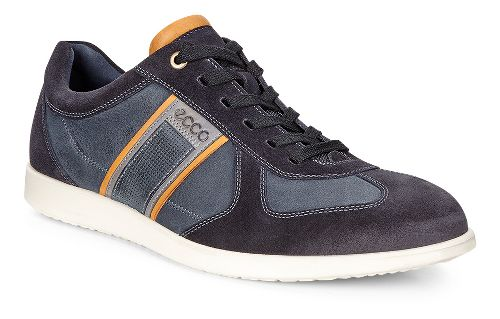 Mens Ecco Indianapolis Sneaker Casual Shoe - Navy 47