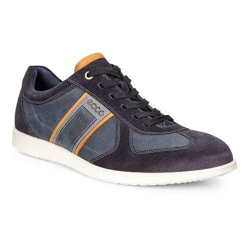 Mens Ecco Indianapolis Sneaker Casual Shoe - Navy 43