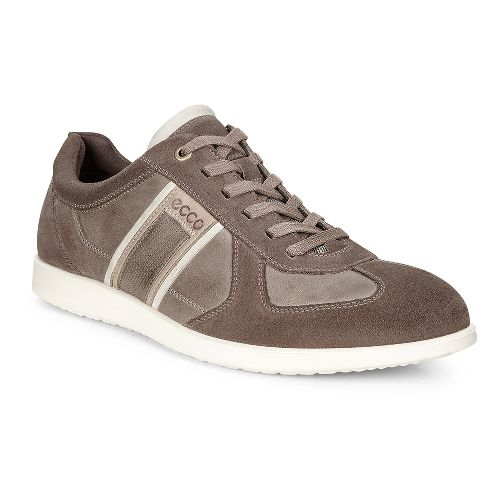 Mens Ecco Indianapolis Sneaker Casual Shoe - Dark Clay 42