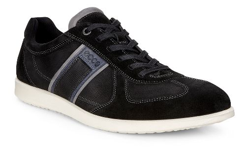Mens Ecco Indianapolis Sneaker Casual Shoe - Black 39