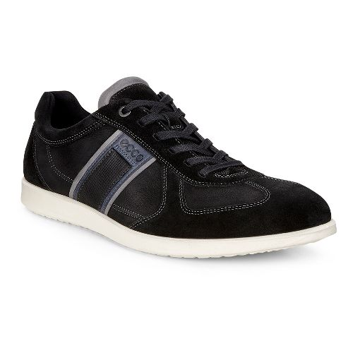 Mens Ecco Indianapolis Sneaker Casual Shoe - Black 39