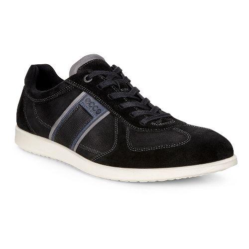 Mens Ecco Indianapolis Sneaker Casual Shoe - Black 42