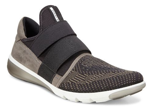 Mens Ecco Intrinsic 2 Slip-On Casual Shoe - Tarmac/Black 44