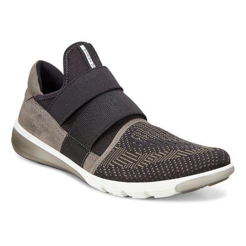 Mens Ecco Intrinsic 2 Slip-On Casual Shoe - Tarmac/Black 42