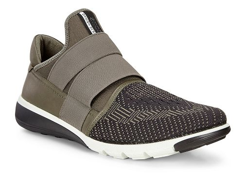 Mens Ecco Intrinsic 2 Slip-On Casual Shoe - Tarmac/Black-Tarmac 43