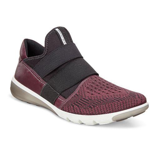 Mens Ecco Intrinsic 2 Slip-On Casual Shoe - Bordeaux/Black 44