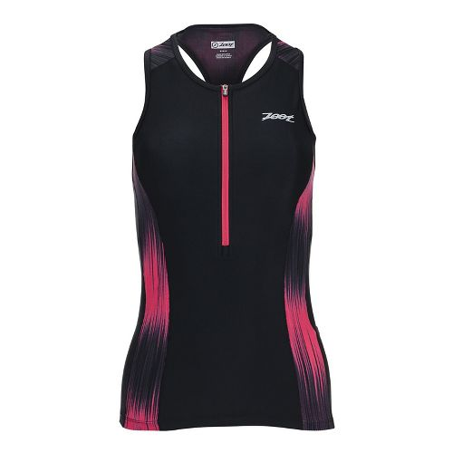 Womens Zoot Performance Tri Sleeveless & Tank Tops Technical Tops - Good Vibes XL