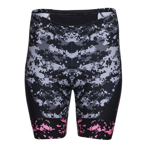 Womens Zoot Run LTD Capris Tights - High Viz Pink XL