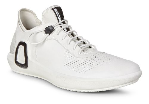 Mens Ecco Intrinsic 3 Leather Casual Shoe - White 47