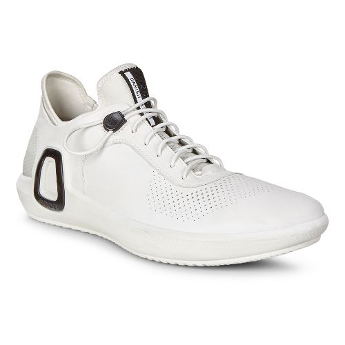 Mens Ecco Intrinsic 3 Leather Casual Shoe - White 44