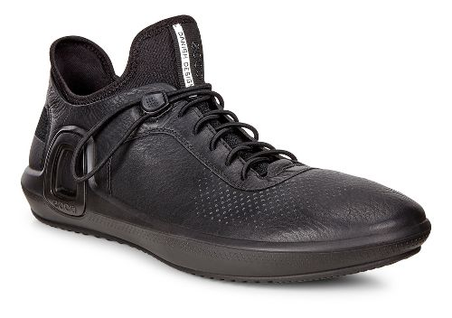 Mens Ecco Intrinsic 3 Leather Casual Shoe - Black 45