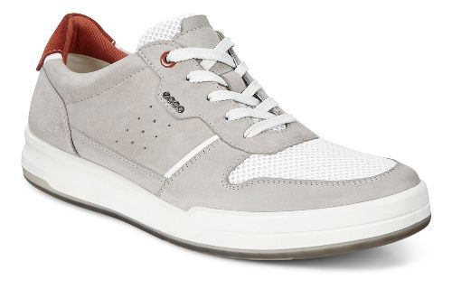 Mens Ecco Jack Summer Sneaker Casual Shoe - Wild Dove 40