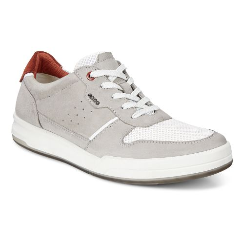 Mens Ecco Jack Summer Sneaker Casual Shoe - Wild Dove 41