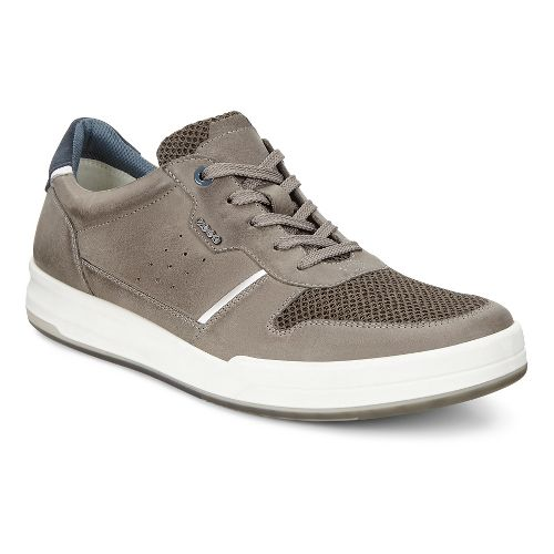 Mens Ecco Jack Summer Sneaker Casual Shoe - Tarmac 46