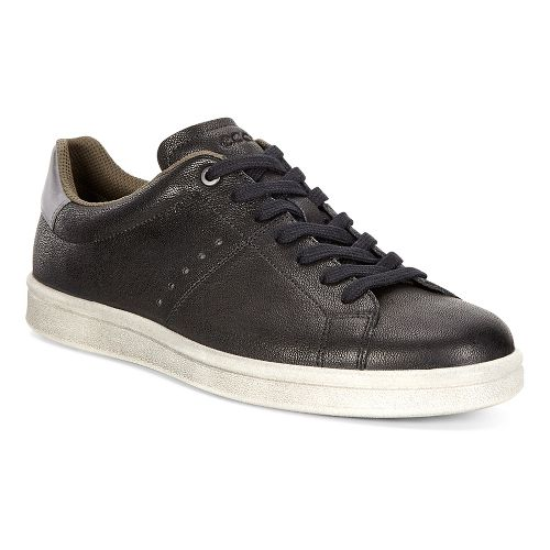 Mens Ecco Kallum Casual Sneaker Casual Shoe - Black/Titanium 41