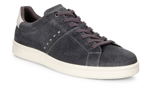 Mens Ecco Kallum Sneaker Casual Shoe - Moonless/Gravel 43