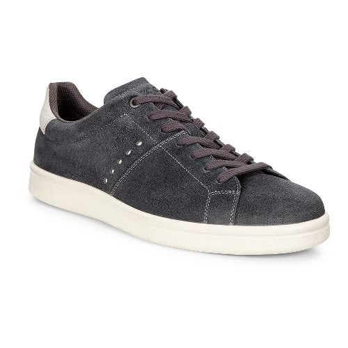 Mens Ecco Kallum Sneaker Casual Shoe - Moonless/Gravel 39