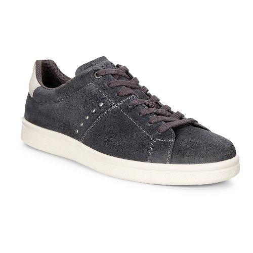 Mens Ecco Kallum Sneaker Casual Shoe - Moonless/Gravel 46