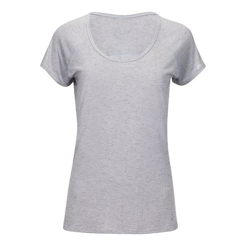 Womens Zoot Sunset Tee Short Sleeve Technical Tops - Silver XS