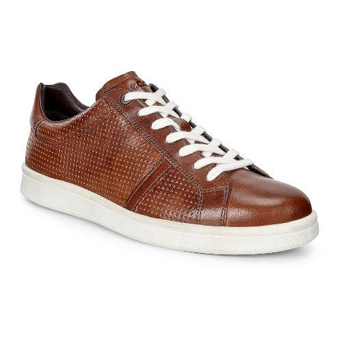 Mens Ecco Kallum Premium Sneaker Casual Shoe - Whisky 43