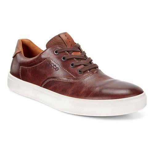 Mens Ecco Kyle Retro Sneaker Casual Shoe - Cognac 46