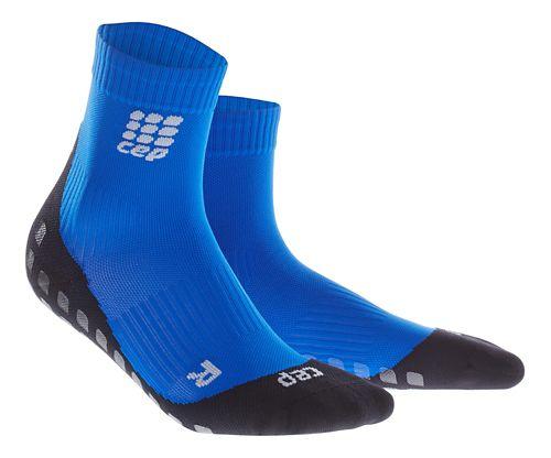 Mens CEP Griptech Short Socks Injury Recovery - Blue XL