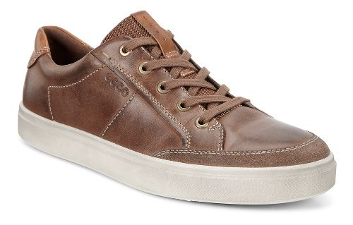 Mens Ecco Kyle Classic Sneaker Casual Shoe - Cocoa Brown 45