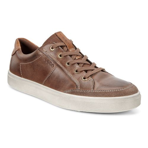Mens Ecco Kyle Classic Sneaker Casual Shoe - Cocoa Brown 41