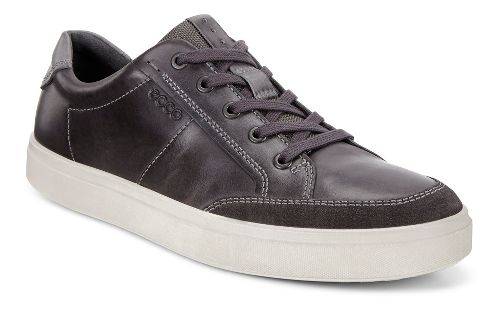 Mens Ecco Kyle Classic Sneaker Casual Shoe - Moonless 41