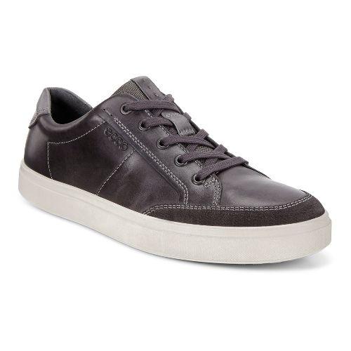 Mens Ecco Kyle Classic Sneaker Casual Shoe - Moonless 39