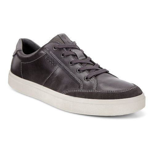 Mens Ecco Kyle Classic Sneaker Casual Shoe - Moonless 40