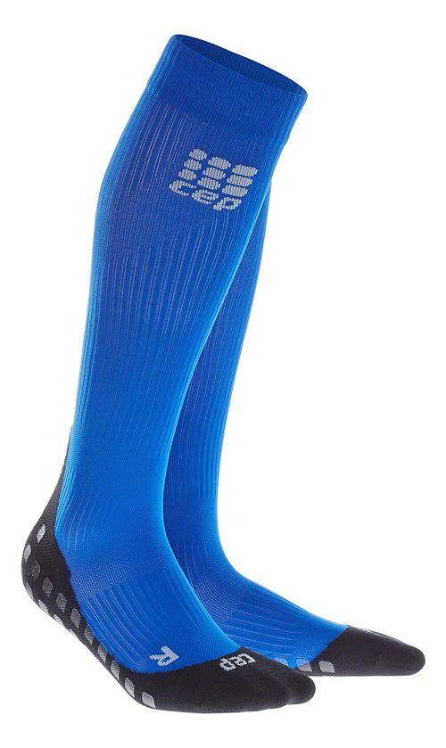 Mens CEP Griptech Socks Injury Recovery - Blue XL