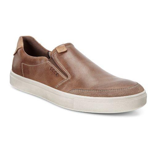 Mens Ecco Kyle Slip-On Casual Shoe - Cocoa Brown 39
