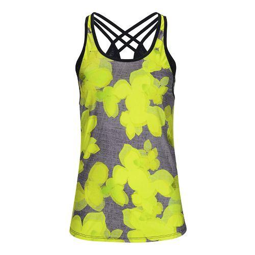 Womens Zoot West Coast Singlet Sleeveless & Tank Tops Technical Tops - Lemon Lime L ...