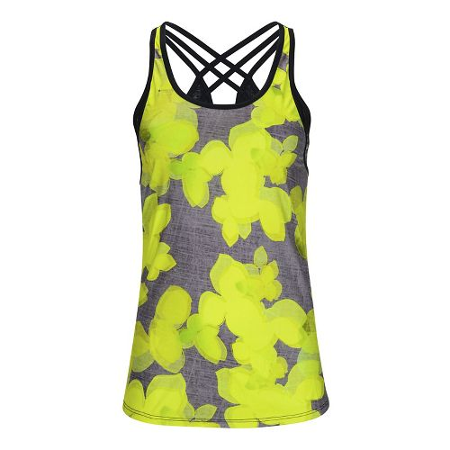 Womens Zoot West Coast Singlet Sleeveless & Tank Tops Technical Tops - Lemon Lime M ...